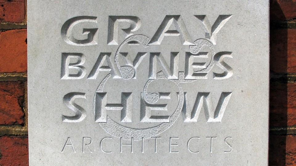 Gray Baynes + Shew: Nameplate