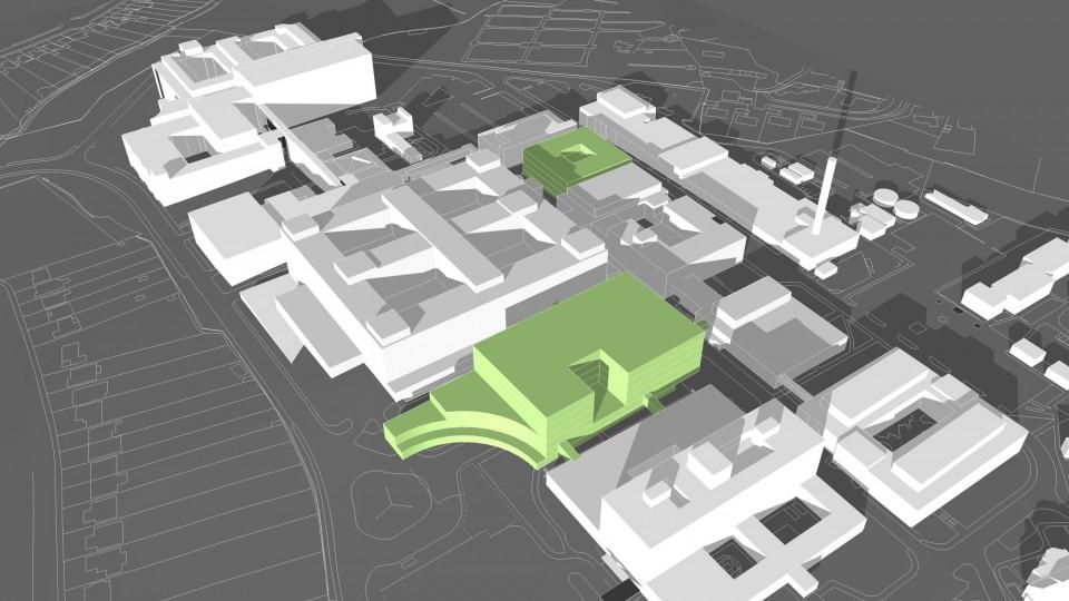 John Radcliffe Hospital - Master Plan